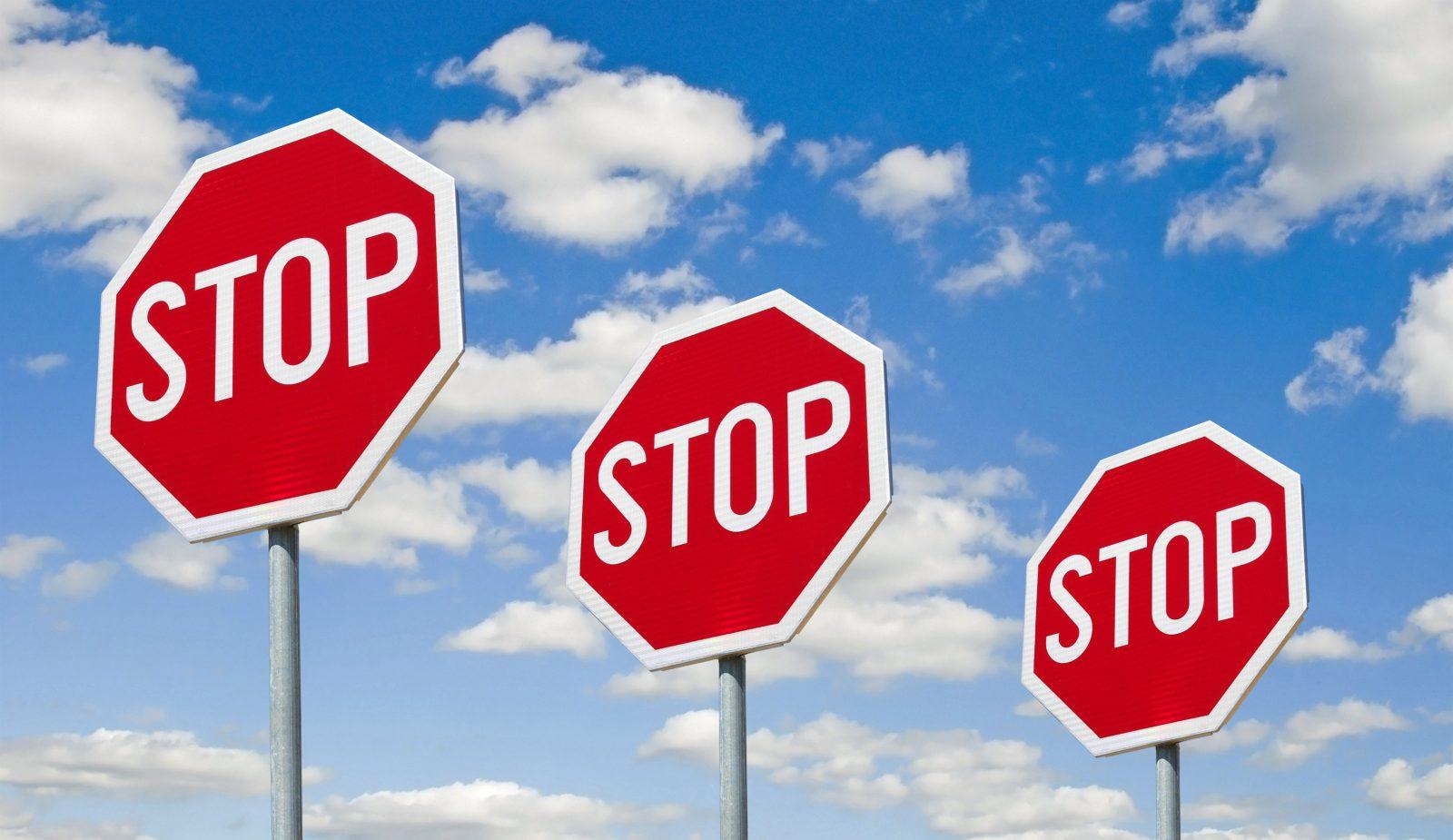 stop sign tickets queens