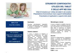Microsoft Word Utilizzo del tablet e delle app nei DSA.docx 1