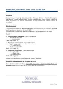 Master Dipendenze Patologiche RiPsi 2021 II edizione 2 04