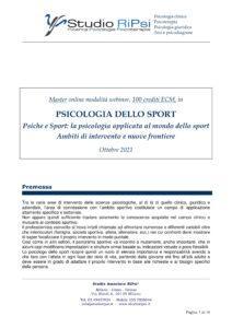Master Psicologia Sport RiPsi 2021 01